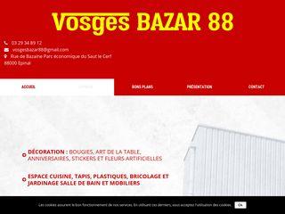 Vosges Bazar 88, votre magasin à Epinal