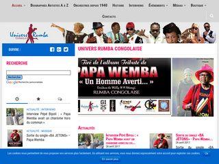 La référence de la rumba congolaise
