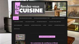 Un cuisiniste indépendant sur Brest