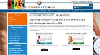 Boutique en ligne d'électrostimulateurs en Suisse