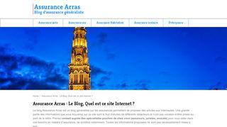 Tout savoir sur les assurances à Arras