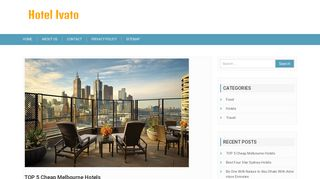 Hotel Ivato et ses diverses prestations