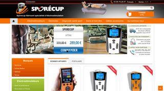 Vente en ligne d'électrostimulateur