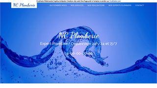 Vente site internet de Plombier expert pour débouchage canalisation