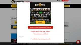 Jouer à l'Ultimate Poker, casinos du Rhône-Alpes