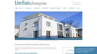 Lino Faria, construction et rénovation en IDF