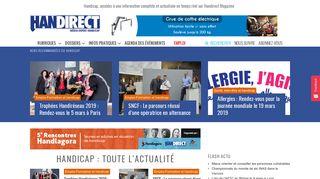 Handirect, le magazine consacré au handicap