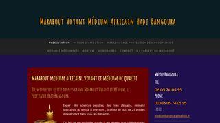 Les prestations du marabout Hadj Bangoura