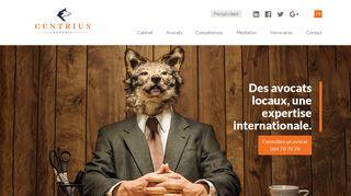Centrius : un cabinet d'avocat basé à la Louvière