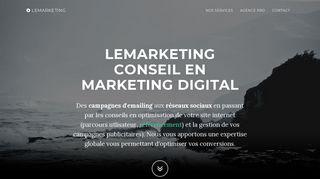 Lemarketing spécialiste du marketing digital