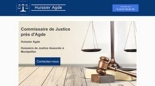 Commissaires et huissiers de justices
