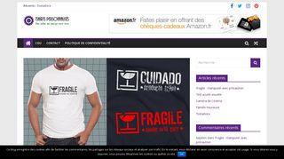 Mille-et-une-idées de t-shirt personnalisé