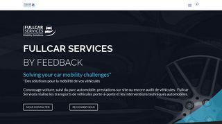 Fullcar Services: pour déplacer les voitures