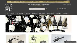 Vinscheznous.com, boutique de vins