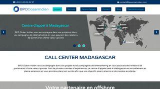 BPO Océan Indien : Agence call center à Madagascar