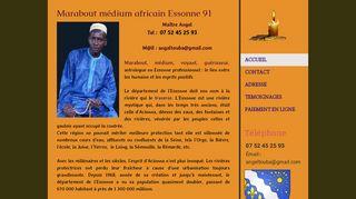 Maître Angel, marabout africain à Essonne