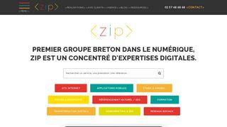 ZIP concentré d'expertises digitales