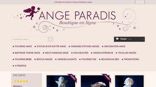 Ange Paradis, la boutique en ligne des Anges