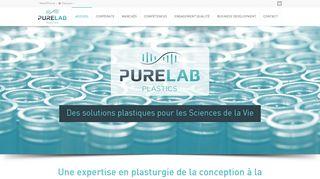 PureLab Plastics, expert en plasturgie médicale
