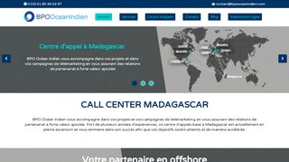BPO Océan Indien : Agence call center à Madagascar