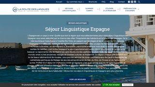 Offrez-vous un bain linguistique en Espagne