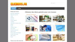 Clicdevis, le devis idéal travaux de maison