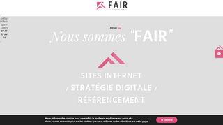 Agence web Nantes : Fair juste pour vous !