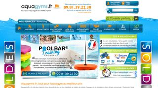 Vos accessoires d'aquagym made in France
