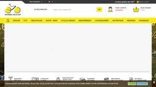 La boutique en ligne des matériels et équipements VTT