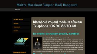 Maitre marabout africain en Guadeloupe