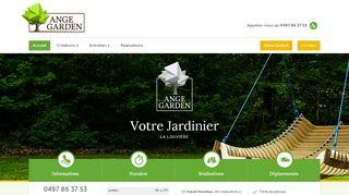 Ange Garden, entreprise de jardinage à La Louvière