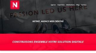 agence de communication à Dijon – Netref