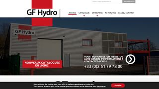 GF Hydro : distributeur de matériel hydraulique