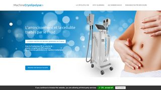 Cryo Cool Med: matériel Cryolipolyse
