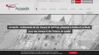 Acropolis : carrelage et plâtrerie Nantes La Baule