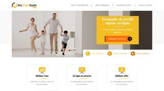 Comparateur de crédit gratuit en ligne