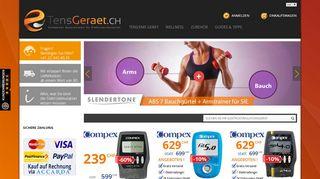 Electrostimulateurs en Suisse boutique en ligne