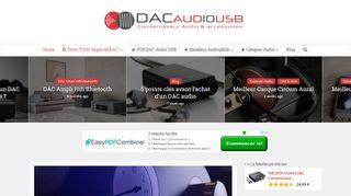 Guide sur le dac audio usb de qualité