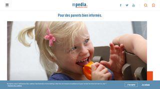 Mpedia : les enfants et leur bien-être