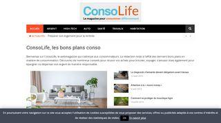 La consommation responsable avec ConsoLife
