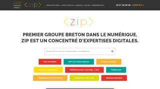 ZIP concentré d'expertises digitales
