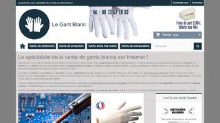 Le gant blanc : boutique en ligne pour les mains