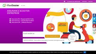 Votre assureur pour votre flotte de scooter