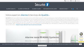 Sécurité1, Expert en matériels de sécurité