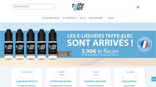 Vente en ligne de cigarettes électroniques