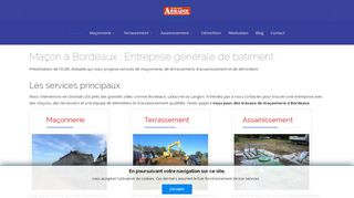 Trouver une entreprise de maçonnerie en Gironde