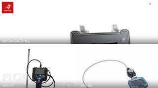 Inspection par caméra endoscope industriel souple