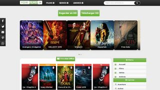 VoirFilms1, site pour le streaming de films