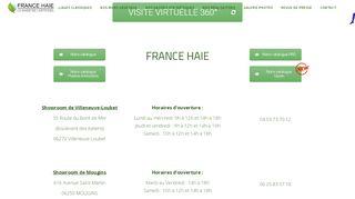 Haie artificielle végétale par France-haie