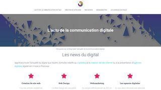 L'actu de la communication digitale